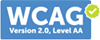 WCAG 2.0 - Accessibility Statement