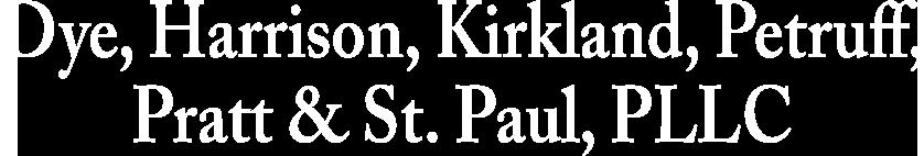 Dye, Harrison, Kirkland, Petruff, Pratt & St. Paul, P.L.
